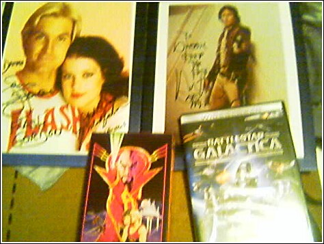 My autographed pictures.  Click to enlarge.